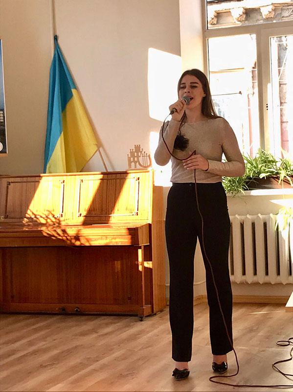 Сніжана Оробець (магістрант) - естрадний вокал